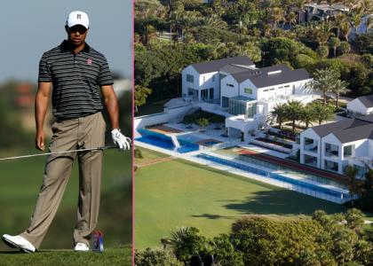 Sky sports tiger woods house on amazing view Images of tiger woods house