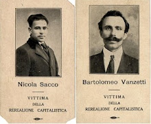 Sacco &amp; Vanzetti Commeratives