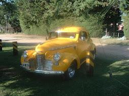 Encuentro de autos antiguos de la ciudad de Esperanza