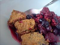 Almond Flour Berry Cobbler (SCD, GAPS, gluten free)
