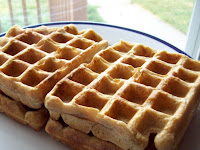 Soaked Wheat Sourdough Waffles- No Starter Needed