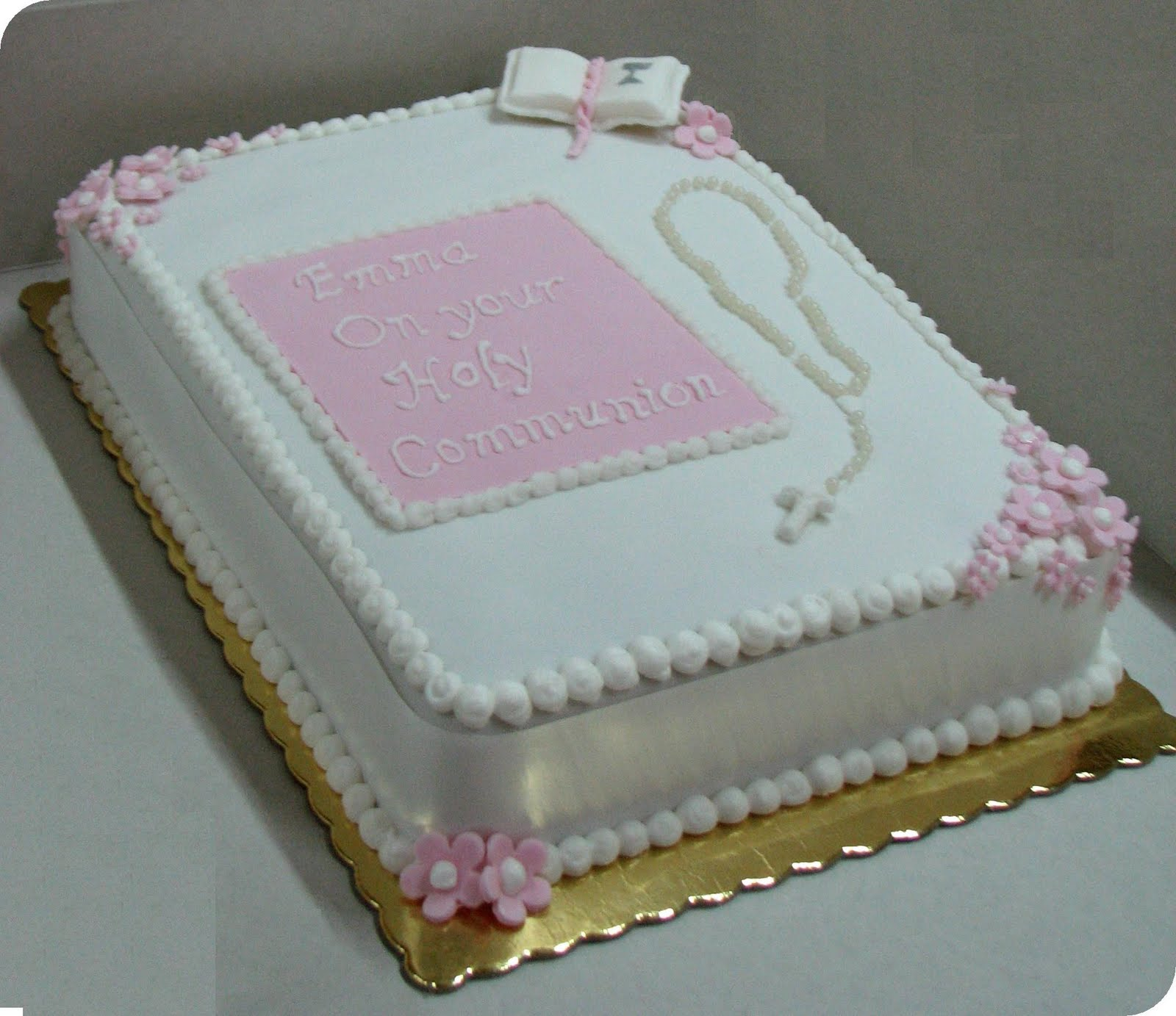 Snooky doodle Cakes: Holy Communion cakes