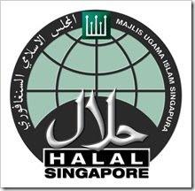 LOGO MAKANAN HALAL SINGAPORE