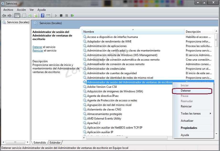 Que es el proceso dwm.exe (Desktop Window Manager) y c�mo ...