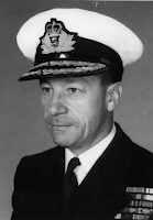 Admiral Landymore, honourary patron of 'Restore the Honour'