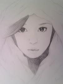 Mi primer dibujo de ayu^^