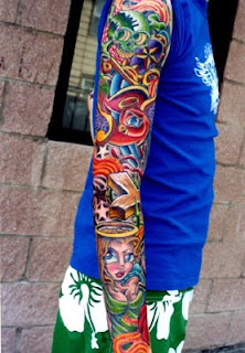 Full Sleeve Tattoos Styles