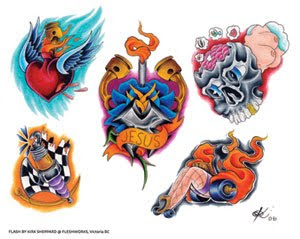 Free Tattoos Flash