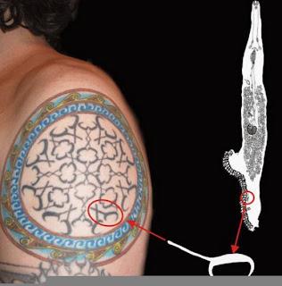 Tattoo strange in world