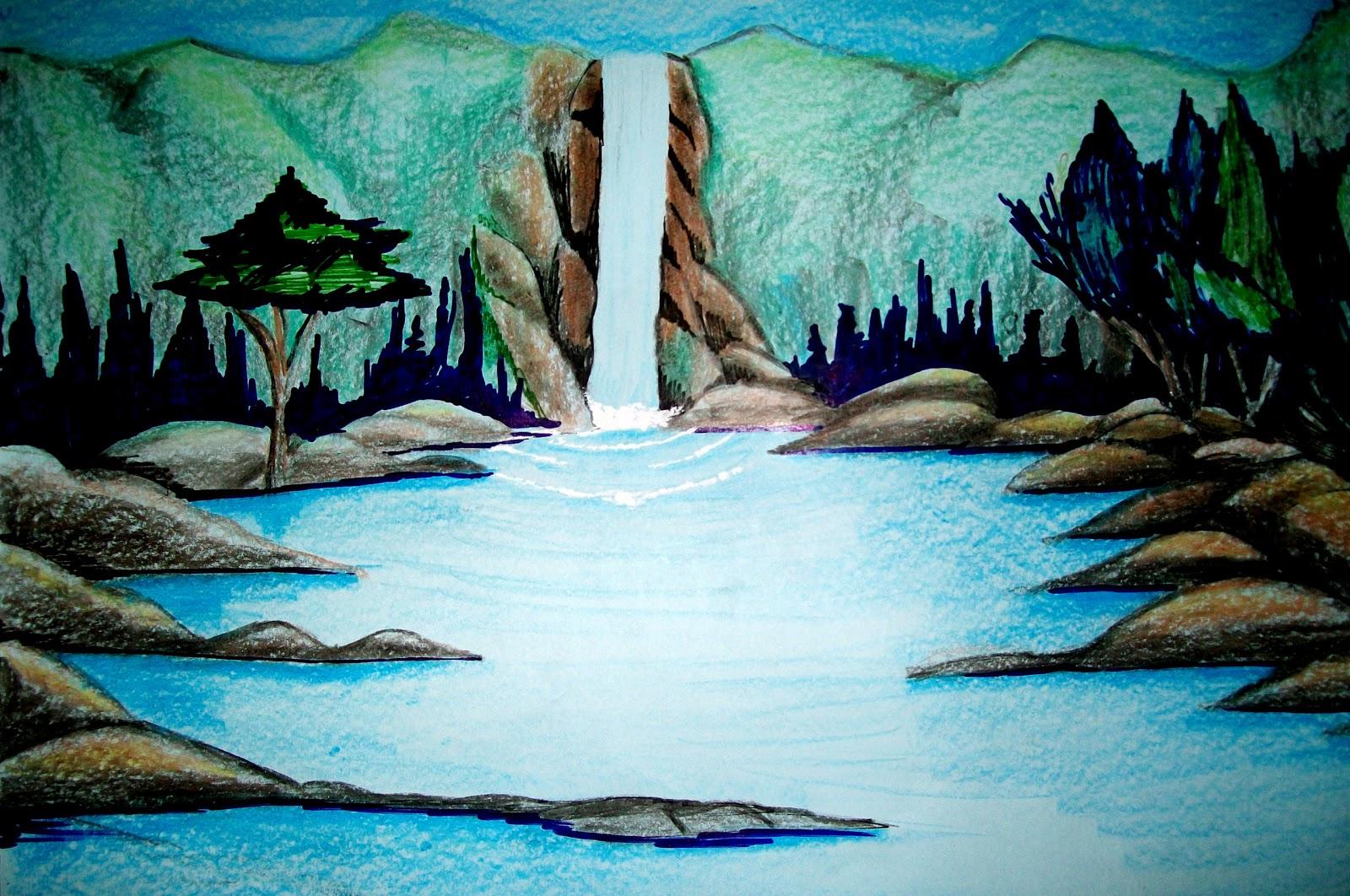 related to desenhos de paisagens naturais para colorir jogos pictures