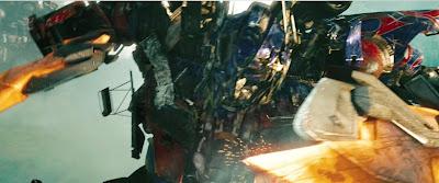 Optimus Prime, sword wielding badass