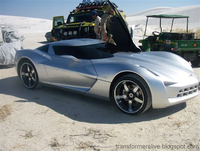 "Les robots & voitures dans le film ""Transformers 2"" - Robots & Cars in the movie TF2WhiteSandsTomato3"