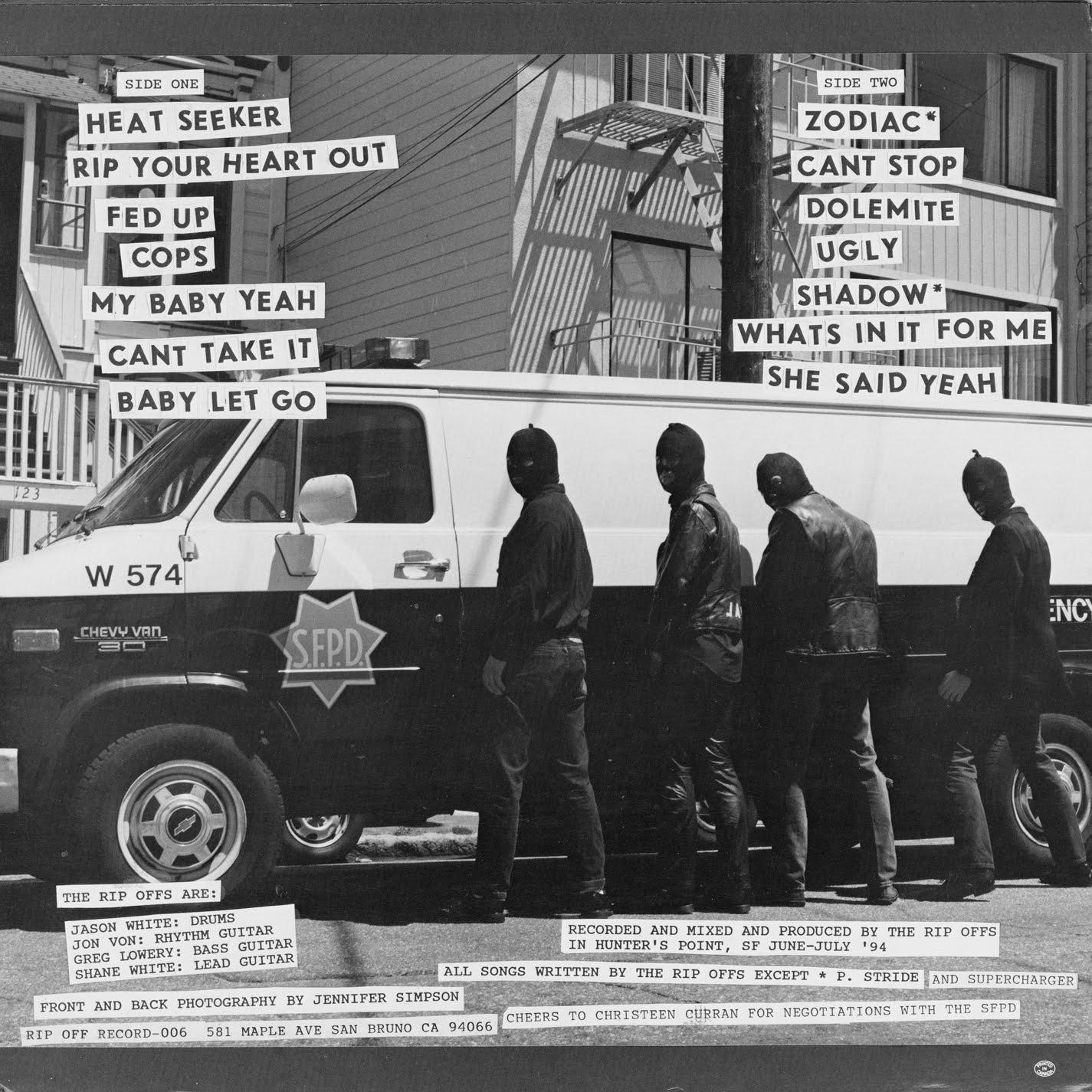 Power Pop Lovers: The Rip Offs - Got A Record [1994]