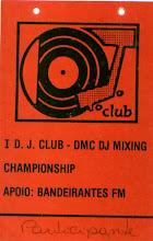DMC Brasil - credêncial de participante do concurso (DJ M.Flash)