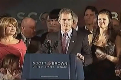 Scott Brown Acceptance Speech