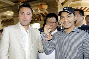 Manny Pacquiao Oscar De La Hoya Fight
