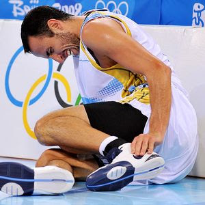 Manu Ginobili needs arthroscopic surgery to repair a ligament injury to his left ankle