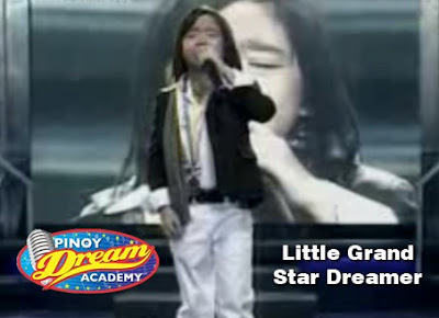 Philip Nolasco First Little Grand Star Dreamer Winner of Pinoy Dream Academy