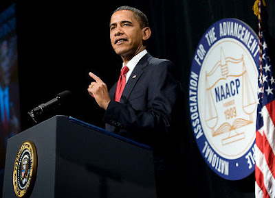Watch Obama NAACP Speech