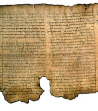 Dead Sea Scroll [Isaiah], 120 BC