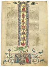 Illuminated Vulgate [Genesis], 1310 AD