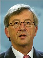 Le premier ministre luxembourgeois Jean-Claude Junker, président de l'Eurogroupe. Document WDR.