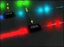 Le modulateur optique d'IBM. Document IBM.
