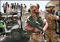 Forces de coalitions dans le sud de l'Afghanistan