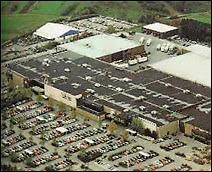 Vue aérienne du complexe de 'La Belle Etoile' à Bertrange.