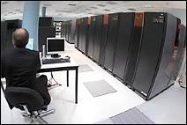 Le superordinateur vectoriel NEC SX-8R de 35.2 TFLOPS installé chez Météo-France.