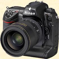 Le Nikon D2Xs. Document Nikon.