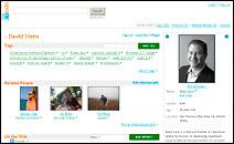 Profil de David Stern sur spock.com.