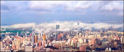 Panorama de Shenzhen.