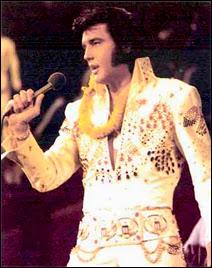 Elvis Presley au début des années '70.