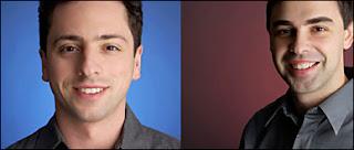 Sergey Brin et Larry Page.