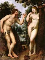 Adam et Eve, par Rubens. Document du Musée des Beaux-Arts d'Anvers.