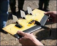 le mciro-UAV WASP.