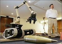 Le robot Warrior X700 de iRobot.