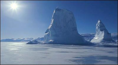 Le Spitzberg, dans le nord-est du Groenland.