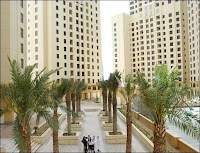 Le Jumeirah Beach Residence à Dubaï.