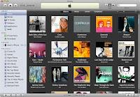 Page Internet d'iTunes d'Apple.