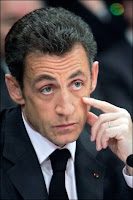 Nicolas Sarkozy à Chatellerault. Document Reuters.
