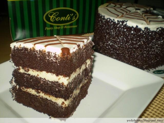 Conti S Black Velvet Cake