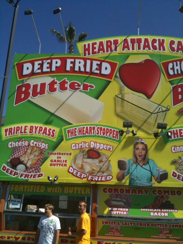 the heart attack cafe. called Heart Attack Cafe.