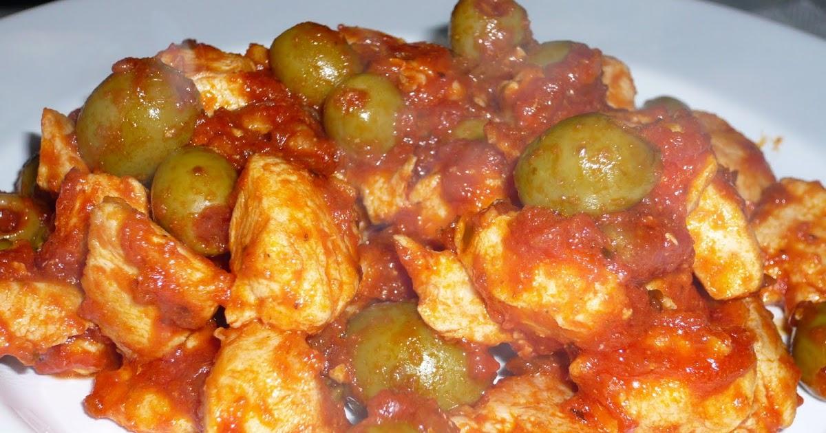 Filets de poulet sauce aux olives for Marinade poulet huile d olive