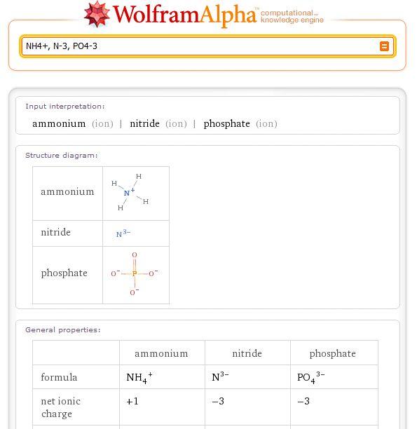 3) химические формулы