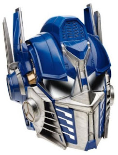 Transformers Optimus Prime Voice Changer Role Play Helmet from Hasbro