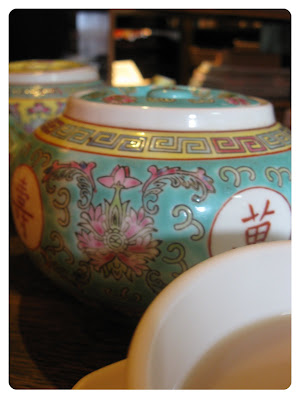 lovely teapot in chinese style