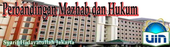 Perbandingan Mazhab dan Hukum
