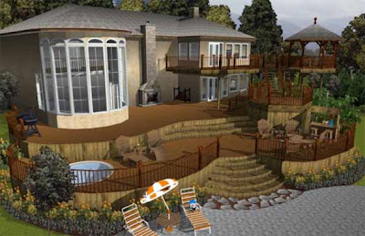 Create+beautiful+home+designs+with+complex+landscapes+with+Home+%26+Landscape+Design, Home Designs Photos